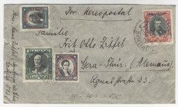 Chile Brief 1932 von Santiago nach Deutschland Sachsen