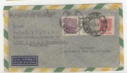 Brasilien Brief 1935 nach Deutschland Sachsen