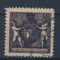Liechtenstein Michel No. 52 B gestempelt used