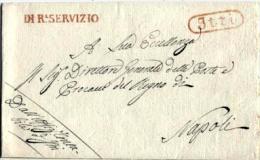 Itri-00353 - Piego (senza Testo). - 1. ...-1850 Prefilatelia