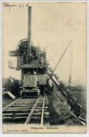 VILLEGUSIEN  Creusement Du Canal Avant 1906  EXCAVATEUR, Rare - Autres Communes