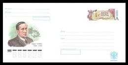 Russia Envelope 2015 #267 Czech Writer Karel Capek - Interi Postali