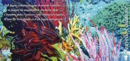"""Entier Postal De 2014 Sur CP Avec Illust.  """"Fonds Sous-Marins"""" Et Timbre """"Aquarium De Nouméa"""" - Postwaardestukken"""
