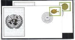 BOX528  UNO WIEN 2010 Michl 643/44 FIRST DAY COVER FREIMARKEN - Centre International De Vienne