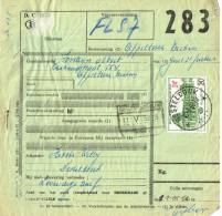 Bulletin D´expédition Colis Postal Avec Cachet à étoiles De Desteldonk - Chemins De Fer