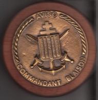TAPE DE BOUCHE AVISO COMMANDANT BLAISON - Bateaux