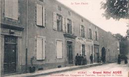 FRANCE  C.P.A 81 TARN  MURAT Sur VEBRE  Grand Hotel AUGE   (en L´état) - France
