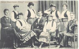 """Damen Blasorchester  """"ELBLUST""""   Direktor  Fritz Thiele  1905 - Künstler"""