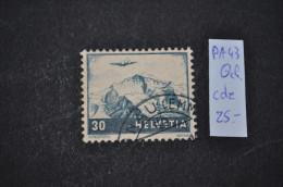 1948, No 43 Oblitéré - Luftpost