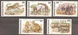 TOGO - 1974 Wild Animals. Scott 887-9, C236-7. MNH ** - Togo (1960-...)