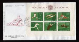 SAN MARINO, FDC 1980 - FDC