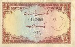 Pakistan 1977, Old Re.1/-, Signature Of Abdul Rauf - Pakistan