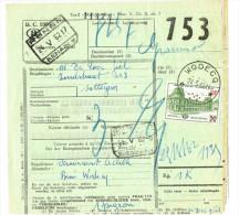 Colis Postal Bulletin D´expédition Avec Obl De Namur 2 - Chemins De Fer