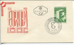 Austria - Europa - FDC,1959 - Europa-CEPT