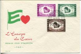 Belgium - Europe Of The Heart - FDC, 1959 - 1959