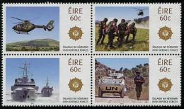 Irlande - 2013 - Forces Armées Irlandaises, Hélicopter, Bateaux, Tank - 4 Val Neuf // Mnh - Neufs