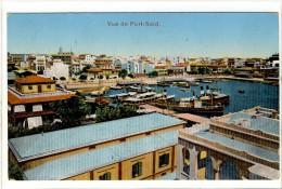 Carte Postale Ancienne Egypte - Port Saïd. Vue - Mit Ghamr
