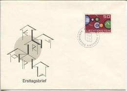 Liechtenstein - Europa CEPT, FDC, 1961 - Europa-CEPT