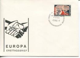 Liechtenstein - Europa CEPT, FDC, 1962 - Europa-CEPT