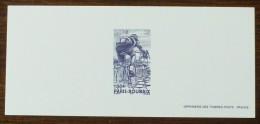GRAVURE YT N°3481 - PARIS ROUBAIX / CYCLISME - 2002 - Documents Of Postal Services