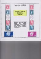 QUAND L´ERREUR CREE DE LA VALEUR, J.L.JOING 133 Pages Illustrées En Couleur, VARIETES, ERREURS,NON EMIS,etc - Temas