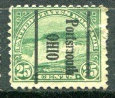 U.S.A. - Préoblitéré - Precancel - POTSMOUTH - OHIO - Préoblitérés