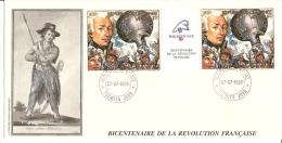 Bicentenaire - FDC - GUINEE - La Fayette - Rivoluzione Francese