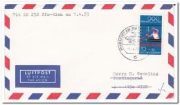Germany 1973 Airmail, Vienna - Avions