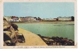 Cpa DINARD Hotels Etb Casinos Vus De La Pointe Du Moulinet - Dinard