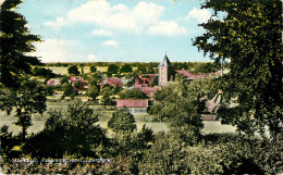 Pays-Bas - Overijssel - Markelo - Panorama Vanaf Berghotel - Semi Moderne Petit Format - 2 Scans - état - Andere