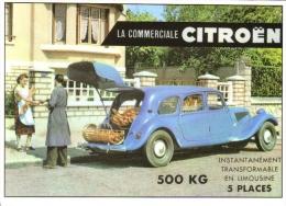 Citroen Commerciale ´Traction Avant´ 500kg   -  CP - Voitures De Tourisme