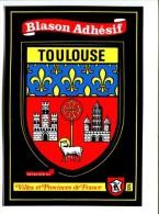 CP - TOULOUSE(31) BLASON ADHESIF AUTOCOLLANT - Toulouse