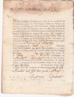 20 JANVIER 1790 LE HAVRE  NAVIRE  LE PHILANTROPE  VIFITE  AVEC INVENTAIRE  DOCUMENT EN  10 PAGES DONT  6 ECRITES