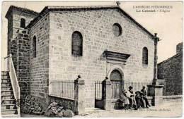 Le Crestet - L'église ( édit. Artige Fils ) - France
