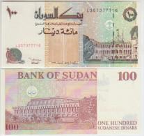 Sudan 100 Pound 1994 Pick 56 UNC - Sudan