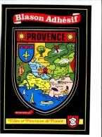 CP - PROVENCE(13) BLASON ADHESIF AUTOCOLLANT - France