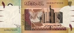 Sudan 1 Pound 2006 Pick 64 UNC - Soudan