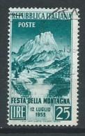 Italie - 1953 - Y&T 657 - Oblit - 6. 1946-.. Republic