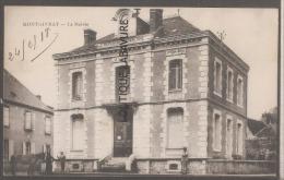36----MONTGIVRAY---La Mairie--animé - Frankreich
