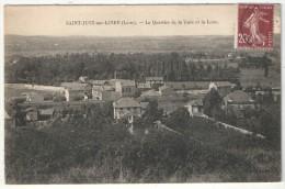 42 - SAINT-JUST-SUR-LOIRE - Le Quartier De La Gare Et La Loire - Saint Just Saint Rambert