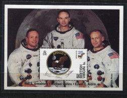 BRIT. VIRGIN ISL, 1994,  SPACE, APOLLO, - Space