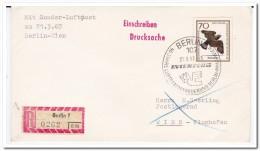 Austria 1967, Berlin-Vienna, Airmail - Avions
