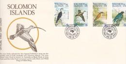 Solomon Islands 1984 Ausipex 84 Birds FDC - Salomon (Iles 1978-...)