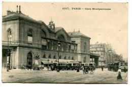 CPA  75  :  PARIS  Gare Montparnasse  1916  VOIR  DESCRIPTIF  §§§ - France