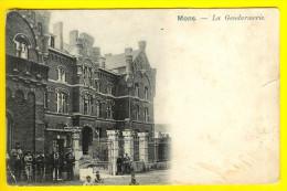 GENDARMERIE = MONS Circulée 1904 Dos Non Divisé Onverdeelde Achterkant GENDARME RIJKSWACHT ANIMATION  1120 - Mons