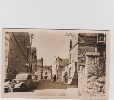 H : Côtes  Darmor :  SAINT  JACUT  De La  MER  : La  Rue  ( Voiture  Traction  Citroën ) - Saint-Jacut-de-la-Mer