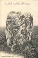 MENHIR DE LA PIERRE BLANCHE    GUERANDE ENVIRONS - Dolmen & Menhirs