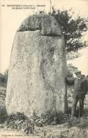 MENHIR DE BISSIN       GUERANDE - Dolmen & Menhirs