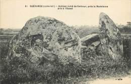 DOLMEN RUINE DE KERBOUR     GUERANDE - Dolmen & Menhirs