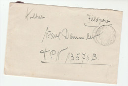 1940s Nimburg GERMANY Feldpost 00270 COVER  To FPN 13576B Forces Military - Cartas